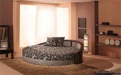 круглая кровать цена, круглые кровати.